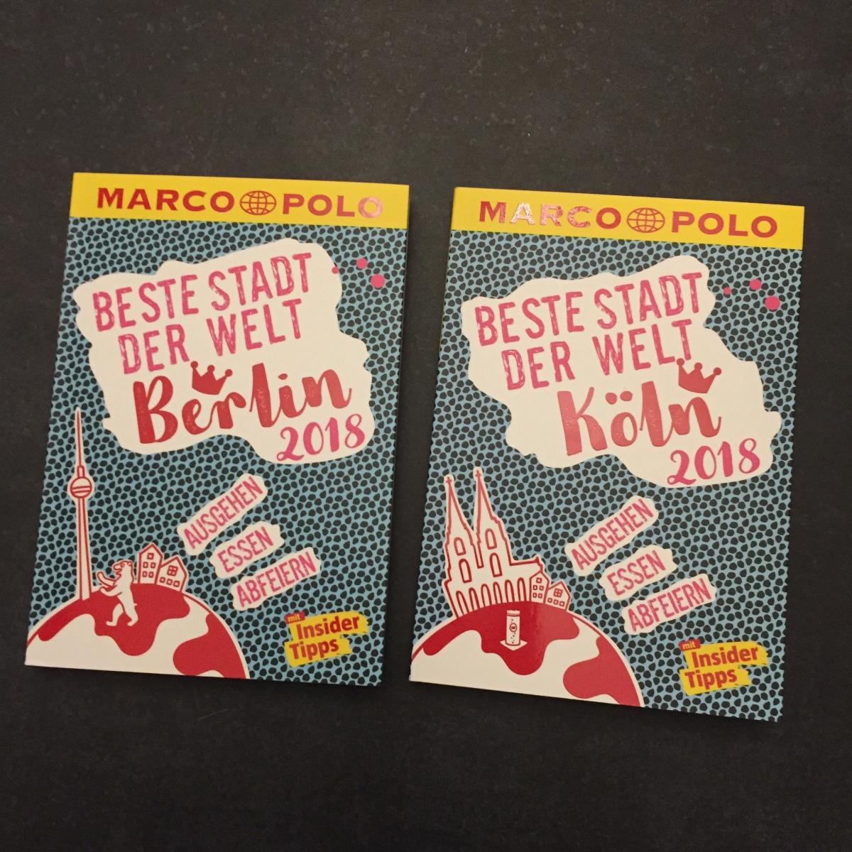 Die beste Stadt der Welt Köln / Berlin