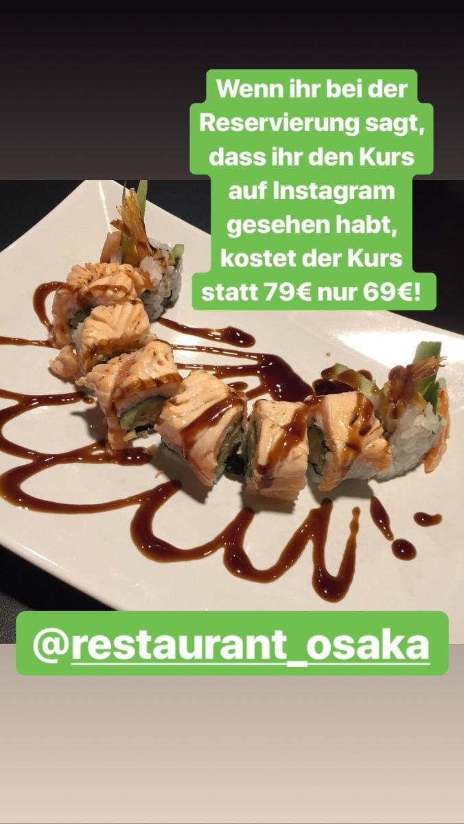 Sushi-Kurs im Osaka in Bonn und eine Mütze für Bonngehtessen!