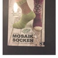 CraSy Mosaik - Sockenstricken mit dem Addi CraSyTrio von Sylvie Rasch