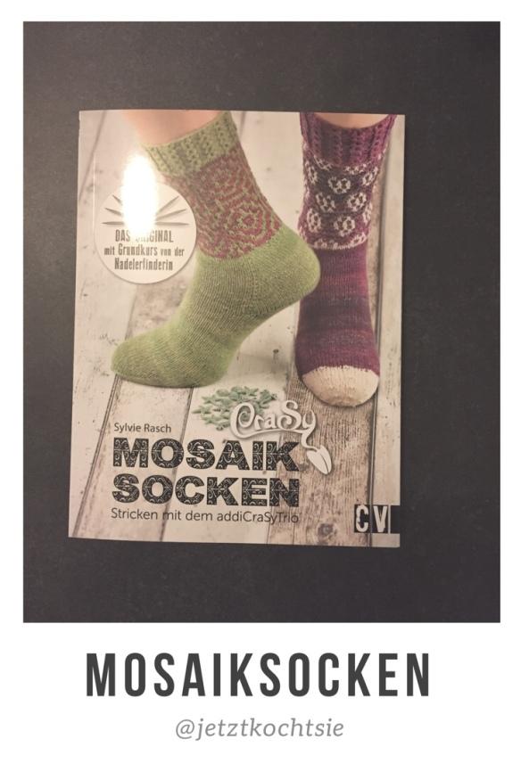 CraSy Mosaik – Sockenstricken mit dem Addi CraSyTrio von Sylvie ...
