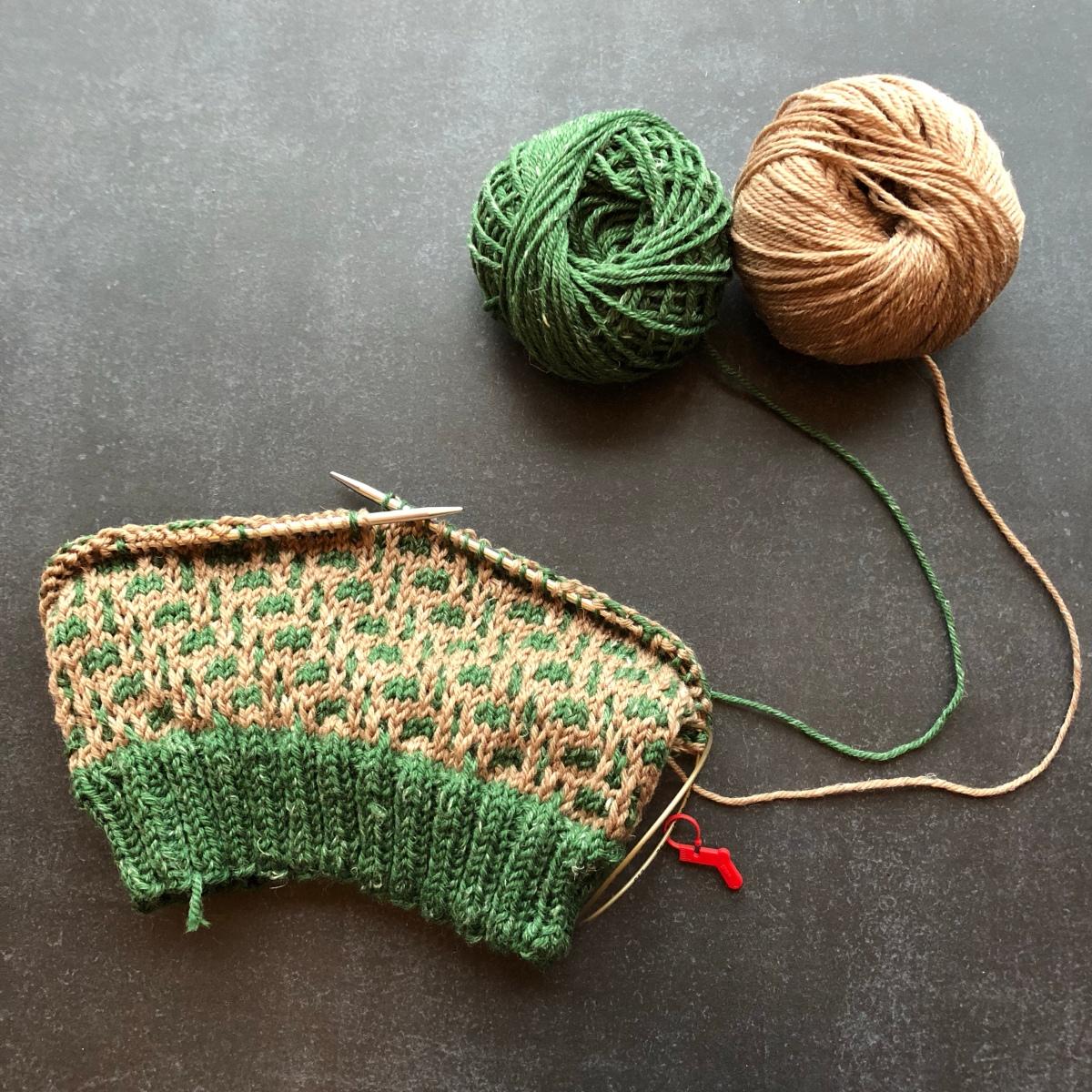 Tincture aus Lana Grossa Slow Wool Canapa - Werbung - Produktprobe
