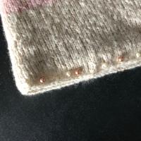 Flausch-Perlen-Cowl - (Werbung / kostenlose Produktprobe)