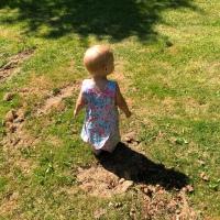 Flamingo Kleidchen für die Nichte