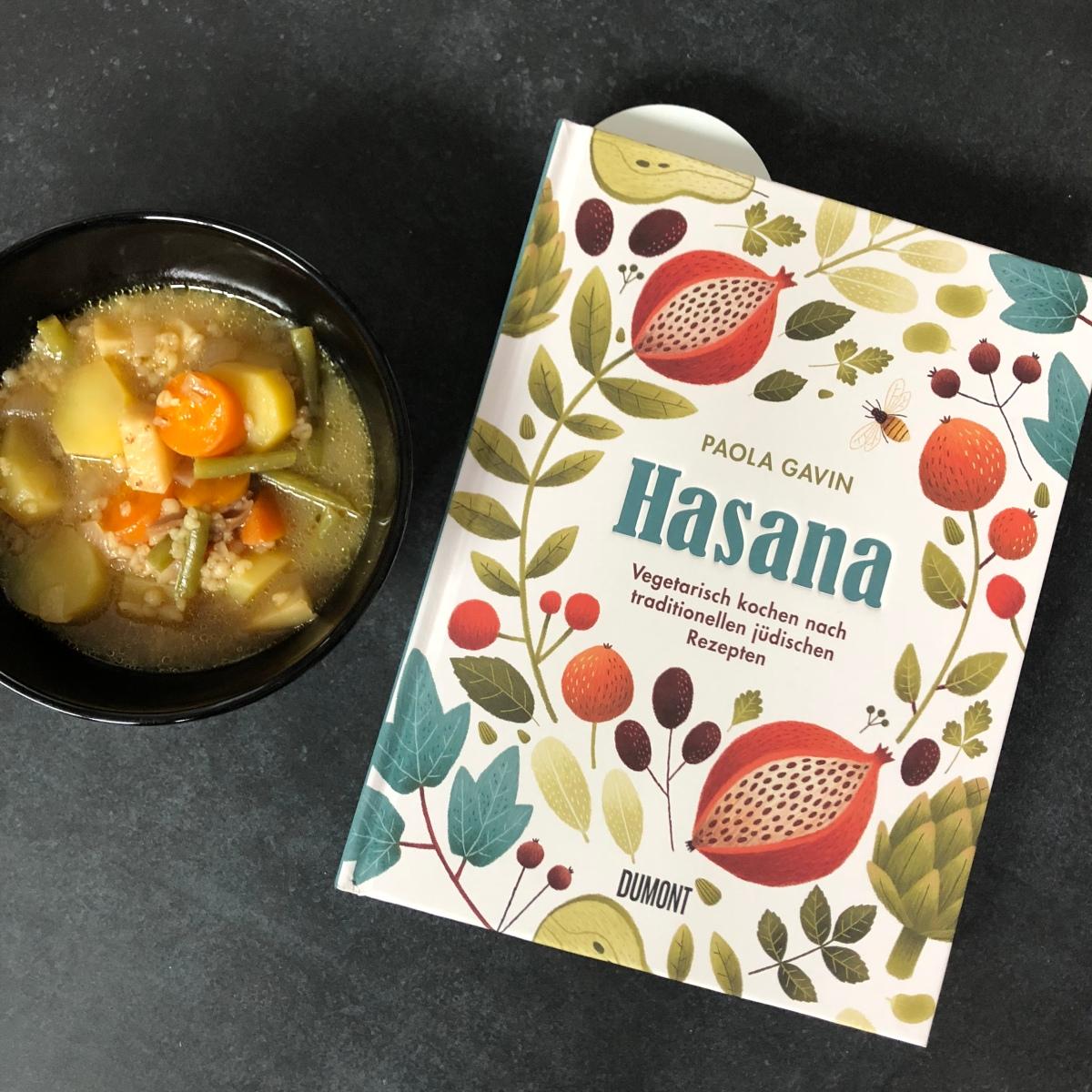 Hasana - vegetarisch kochen nach traditionellen jüdischen Rezepten von Paola Gavin