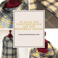 Karo La Silla aus Tartan-Jersey von MEZ Fabrics