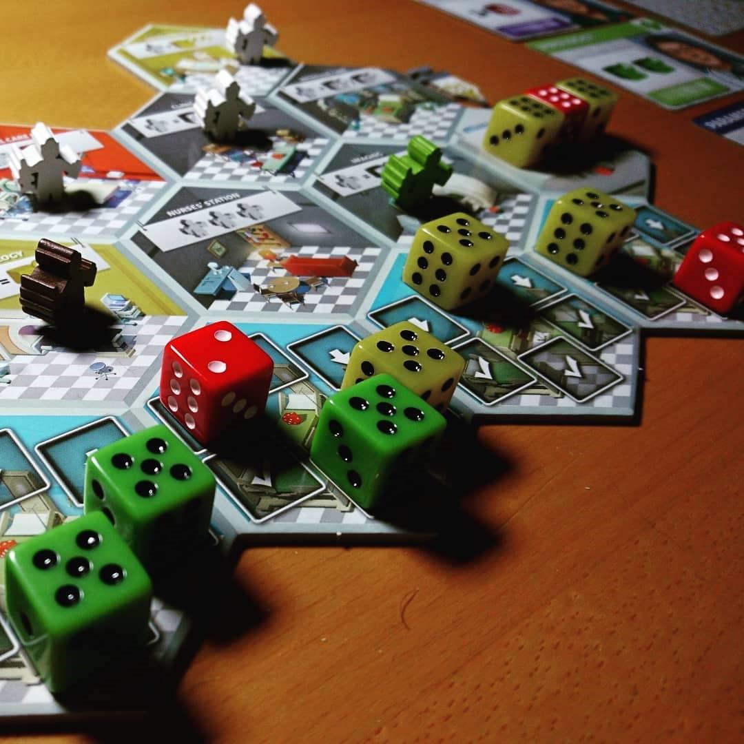 GRÜNE Ressourcen Materialien Würfel Tokens Markers Karten und Brettspiele