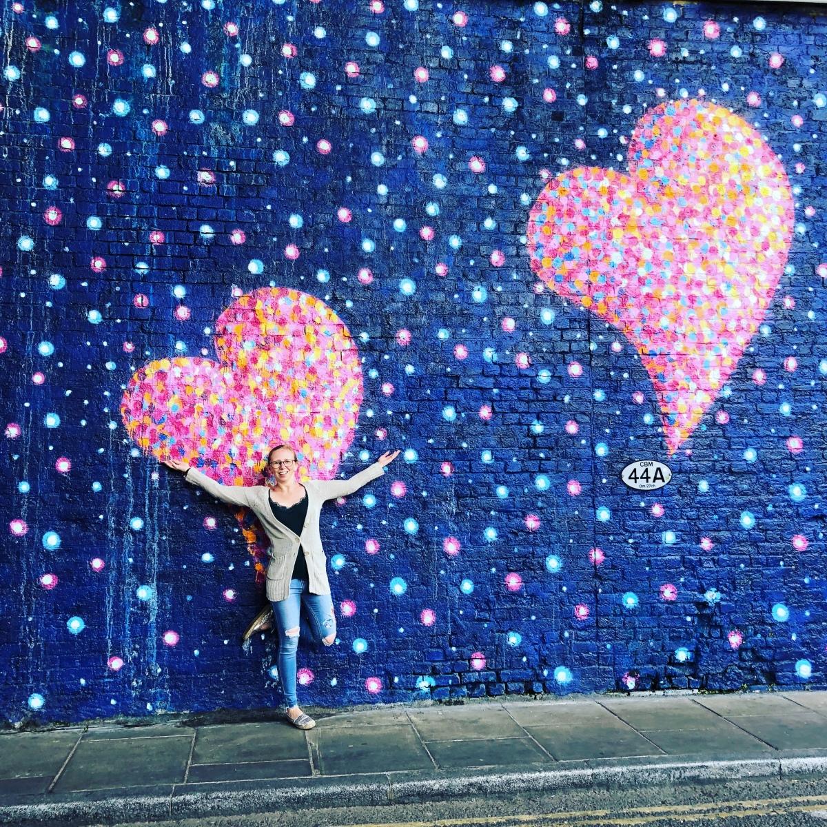 Liebe versprühen... Liebe deinen Handarbeitsladen #visityourlys