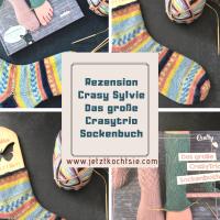 Socken stricken auf dem Crasy Trio - Sylvie Rasch