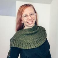 Wellenlinientuch von Tanja Steinbach aus Ecopuno